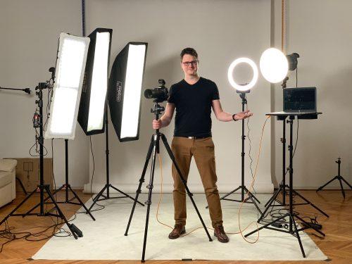 LED lámpás fotózás alapjai